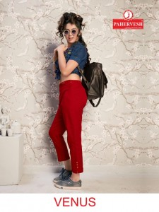 pahervesh venus ready to wear pant with side pocket  in wholesale price ( 10 pcs set )