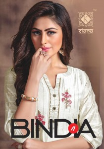 Kiana Bindia Designer Party wear Kurti With Bottom Collection In Wholesale Price ( 8 pcs catalog )