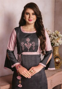 Kiana Elegance Vol-2 Kurti With Plazzo ( 10 Pcs Catalog )